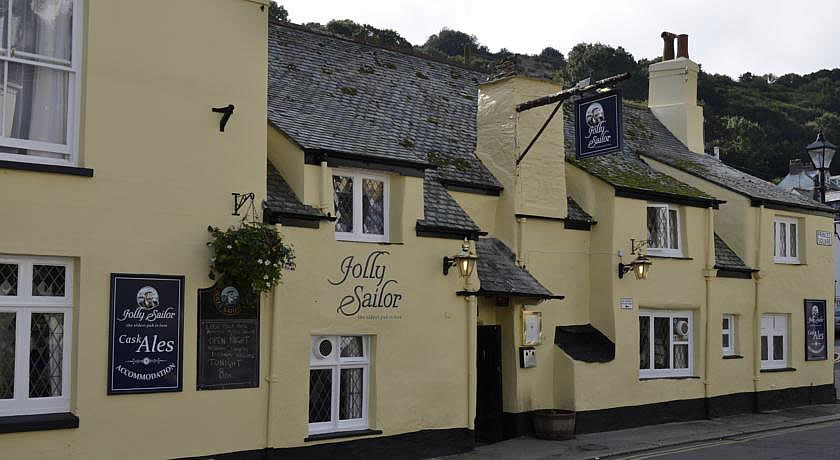 Pubs with Rooms Cornwall - Jolly Sailor Inn, Looe