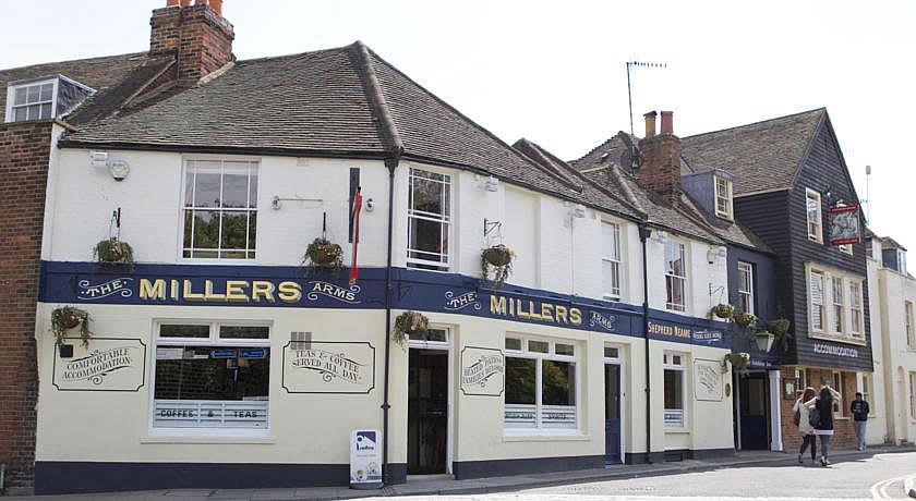 Pubs with Rooms in Kent - The Millers Arms Inn, Canterbury
