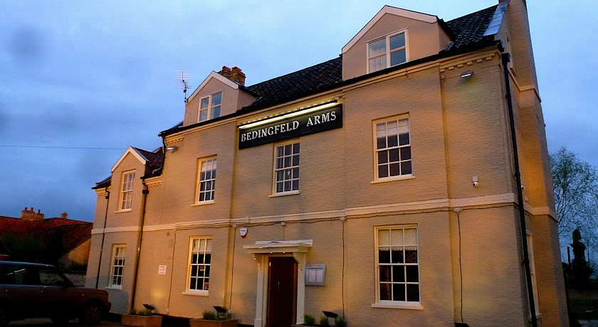 Pubs with Rooms in Norfolk - The Bedingfeld Arms, Oxborough