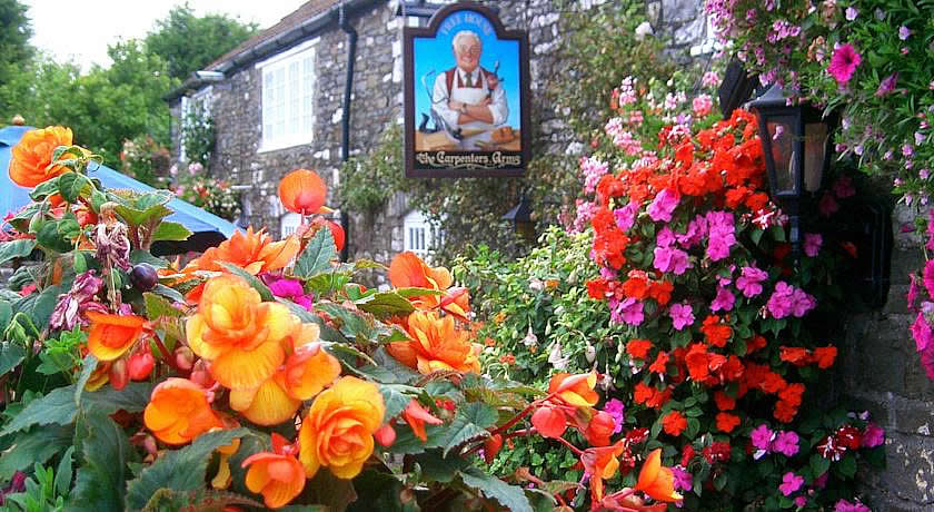 Pubs with Rooms in Somerset - Carpenters Arms, Stanton Wick