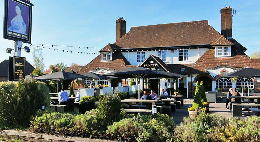 Pubs with Rooms in Surrey - The Princess Royal, Farnham