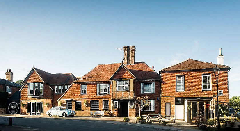Pubs with Rooms in Sussex - The Bell, Ticehurst