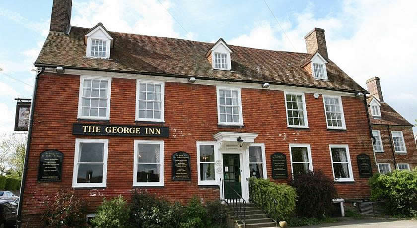 Pubs with Rooms in Sussex - The George Inn, Robertsbridge