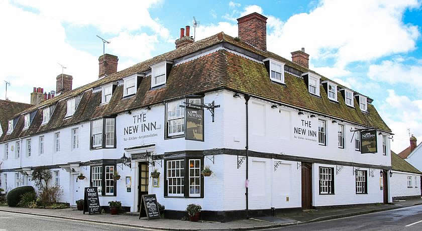 Pubs with Rooms in Sussex - The New Inn, Winchelsea