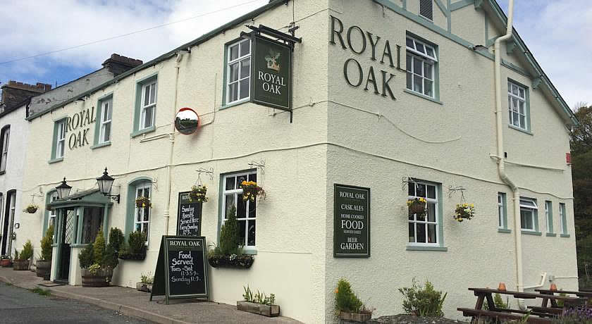 Pubs with Rooms in The Lake District - The Royal Oak, Spark Bridge