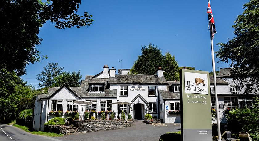 Pubs with Rooms in The Lake District - The Wild Boar, Bowness-on-Windermere