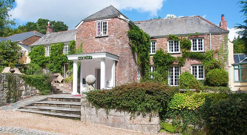 Restaurants with Rooms in Cornwall - Boscundle Manor, St Austell