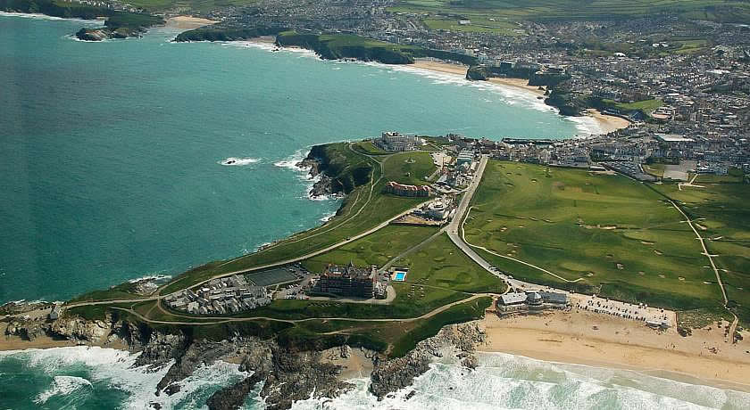 Restaurants with Rooms in Cornwall - The Headland Hotel & Spa, Newquay