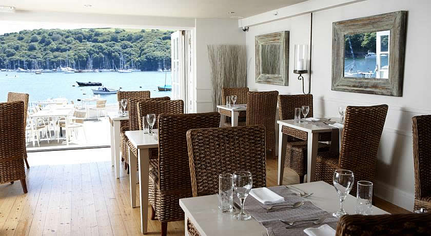 Restaurants with Rooms in Cornwall - The Old Quay House Hotel, Fowey