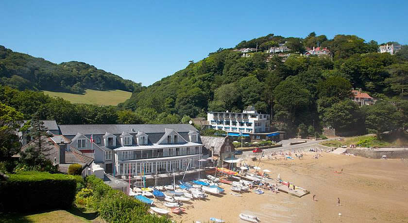 Restaurants with Rooms in Devon - South Sands, Salcombe