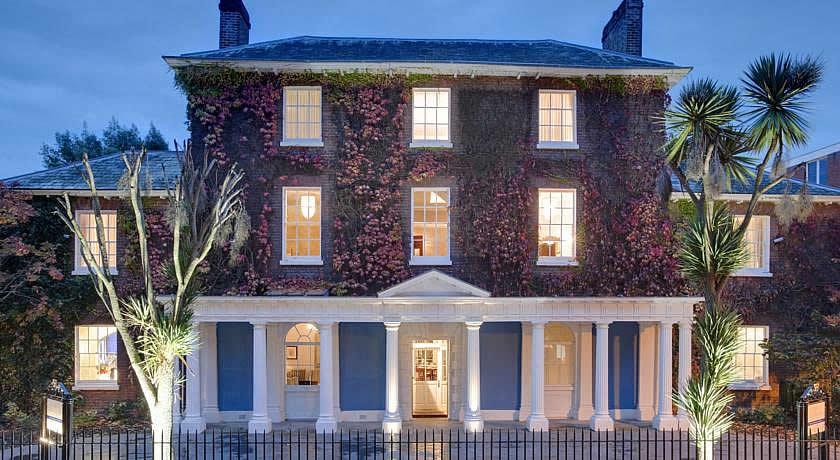 Restaurants with Rooms in Devon - Southernhay House Hotel, Exeter