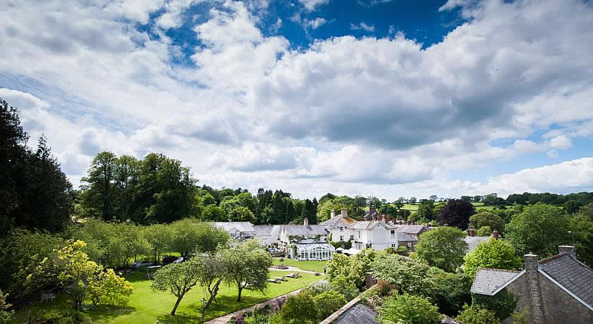 Restaurants with Rooms in Dorset - Summer Lodge Hotel, Evershot