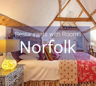 Restaurants with Rooms in Norfolk