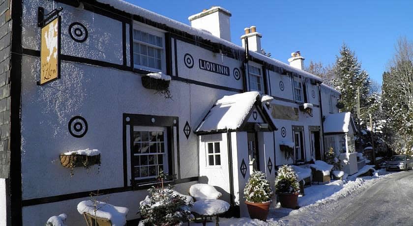 Pubs with Rooms in Wales - The Lion Inn, Gwytherin