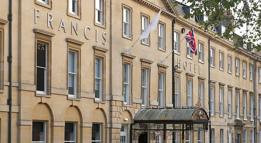 Restaurants with Rooms in Bath - Francis Hotel Bath