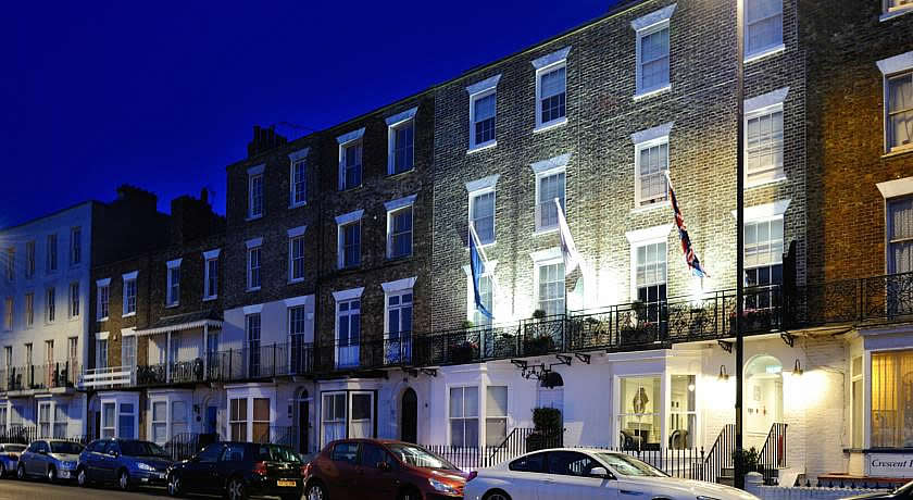Restaurants with Rooms in Kent - The Crescent Victoria Hotel, Margate