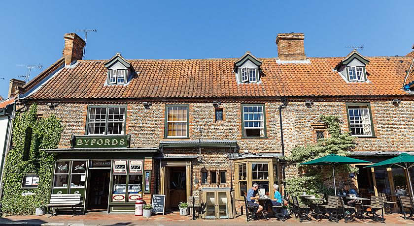 Restaurants with Rooms in Norfolk - Byfords, Holt