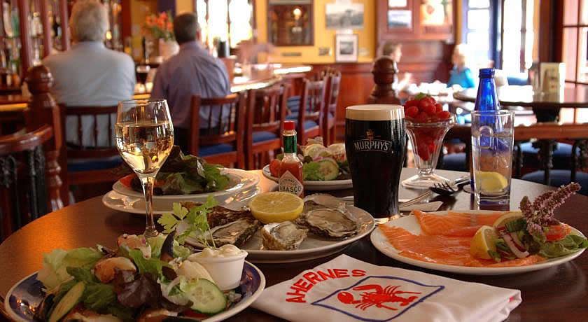 Restaurants with Rooms in County Cork - Aherne's Townhouse Hotel & Seafood Restaurant, Youghal