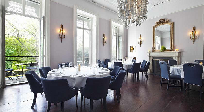 Restaurants with Rooms in Dublin - The Cliff Townhouse