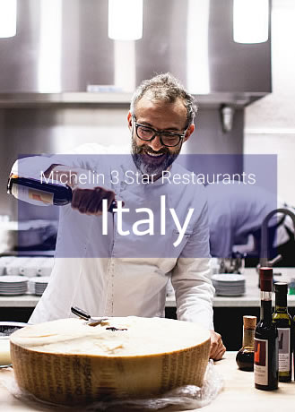 Michelin 3 Star Restaurants in Italy