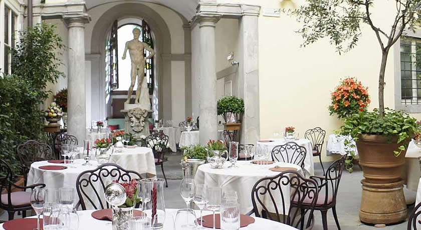 Michelin 3 Star Restaurants in Italy - Enoteca Pinchiorri, Florence