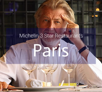 Michelin 3 Star Restaurants in Paris