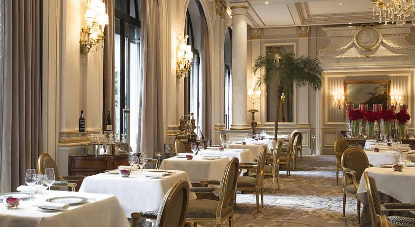 Michelin 3 Star Restaurants in Paris - Le Cinq Restaurant at Four Seasons George V Hotel