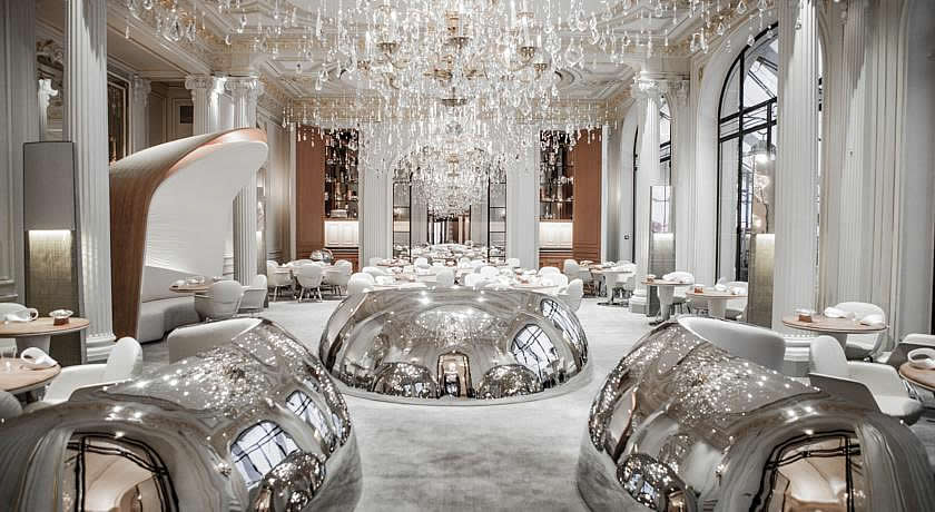Michelin 3 Star Restaurants in Paris - Restaurant Alain Ducasse at Hotel Plaza Athenee Paris