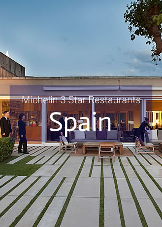 Michelin 3 Star Restaurants in Spain