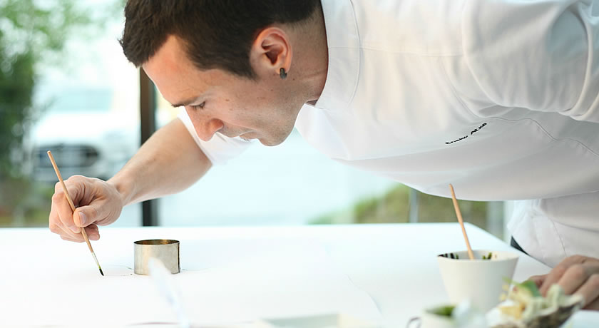 Michelin 3 Star Restaurants in Spain - Eneko Atxa, Azurmendi, Bibao