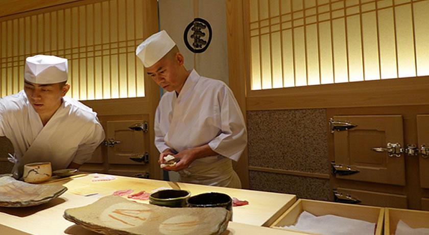 Michelin 3 Star Restaurants in Tokyo - Saito Sushi