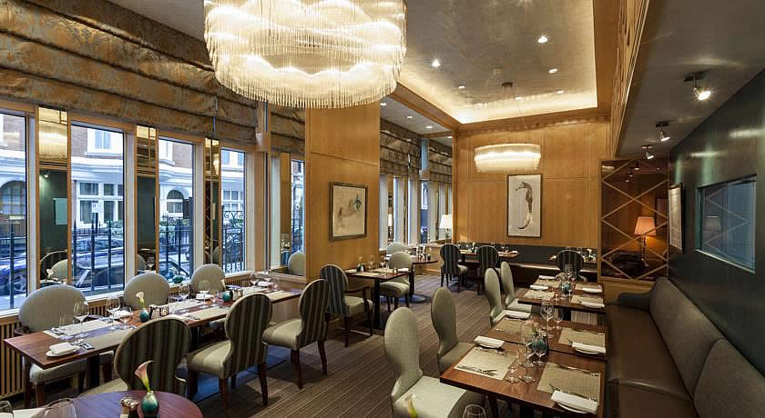 Michelin Star Restaurants - Outlaw's at The Capital
