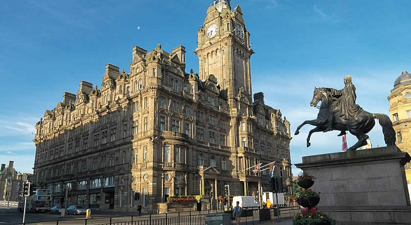Restaurants with Rooms in Edinburgh - Number One at The Balmoral Hotel, Edinburgh