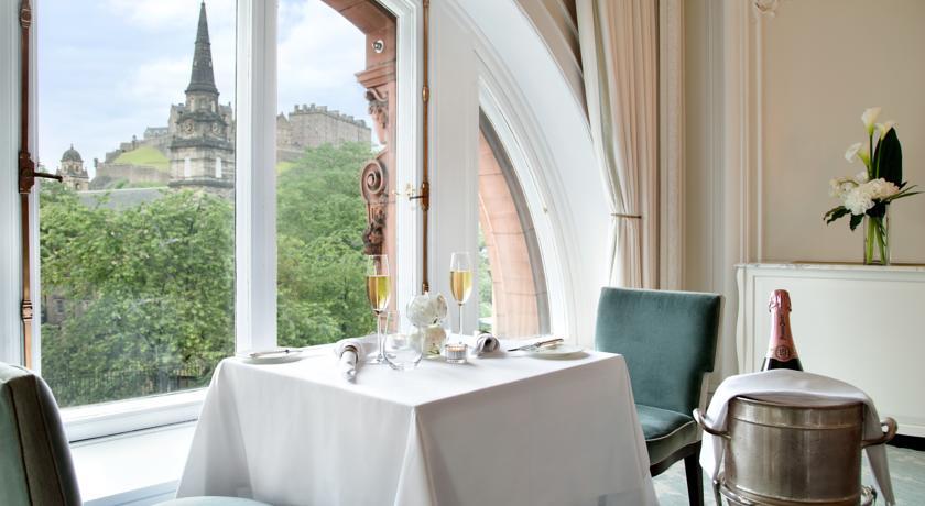 Restaurants with Rooms in Edinburgh - Waldorf Astoria Edinburgh - The Caledonian