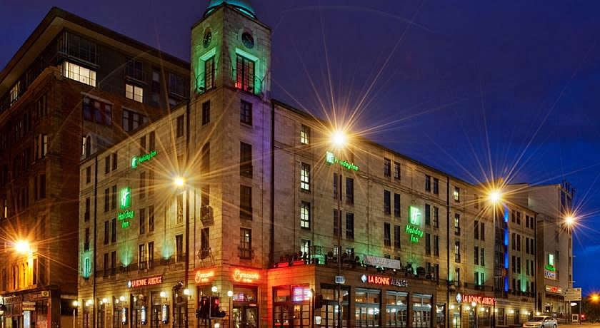 Restaurants with Rooms in Glasgow - La Bonne Auberge at The Holiday Inn Glasgow
